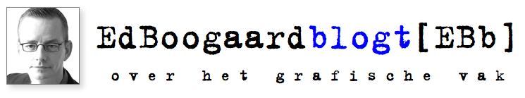 Ed Boogaard blogt [EBb]