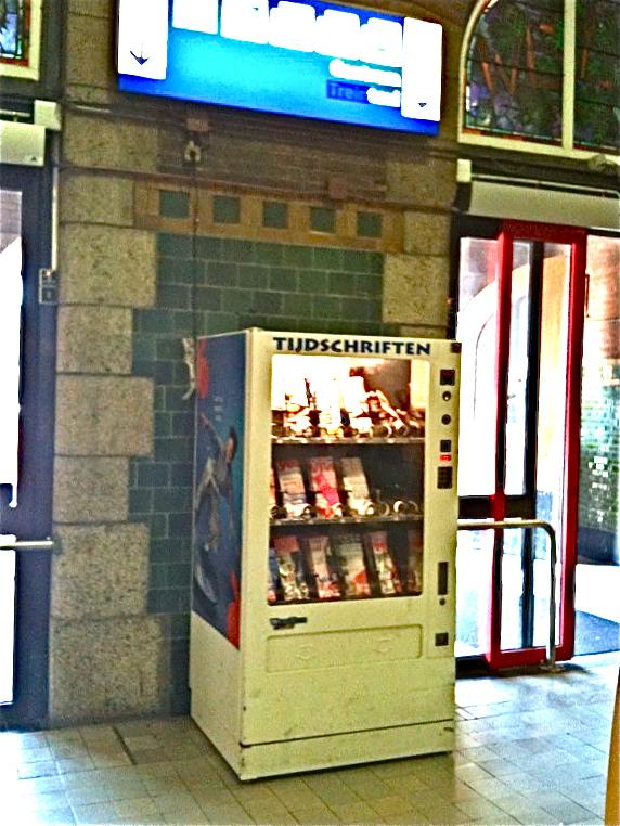 Tijdschriftenautomaat