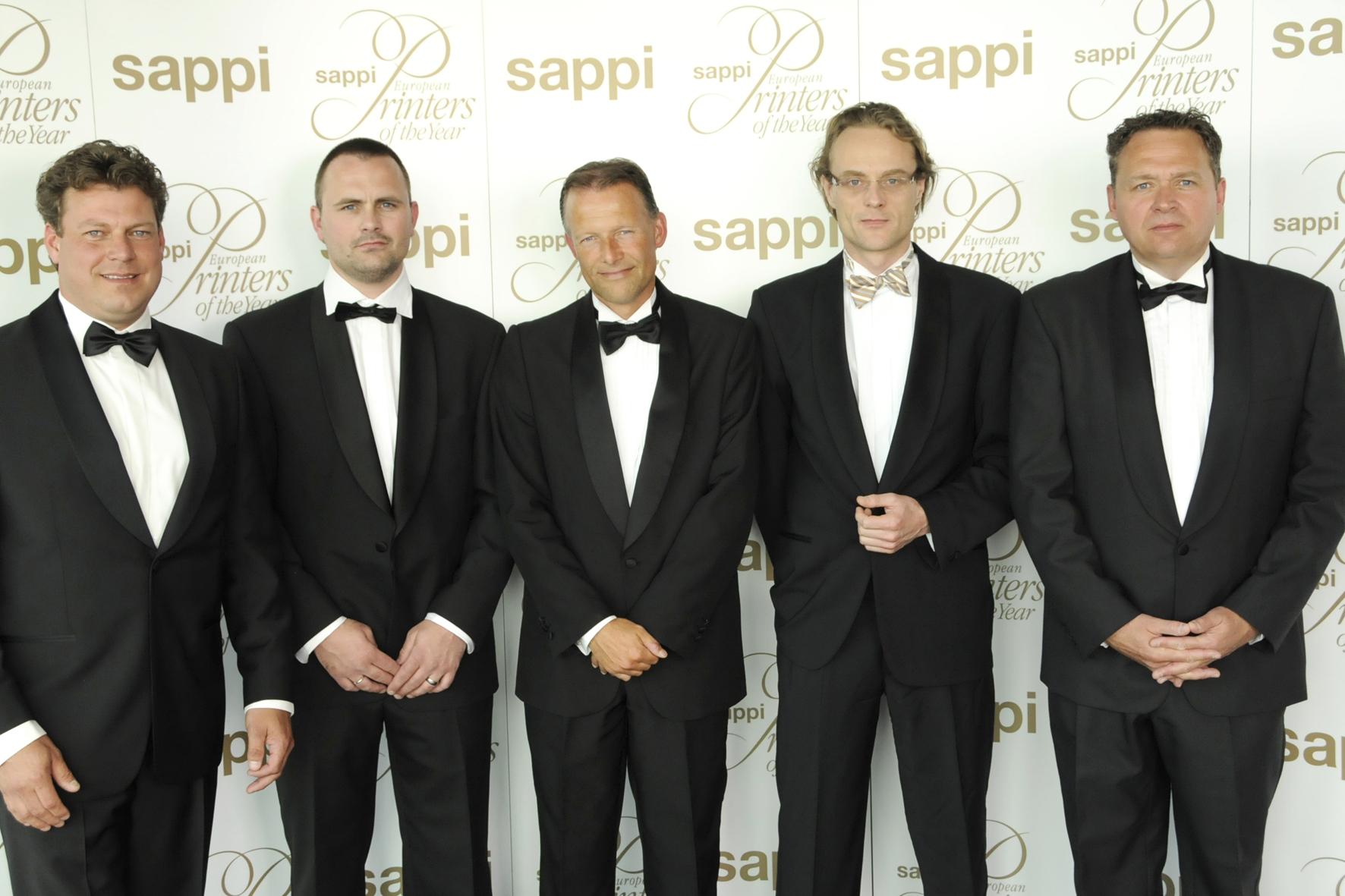 Zes Nederlandse Sappi medailles
