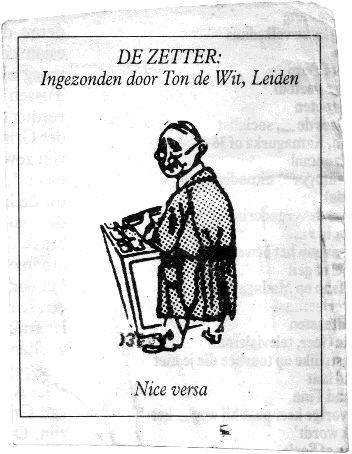 De Zetter van Vrij Nederland