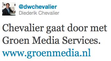 Groen naar Chevalier - Print4U naar Euromail