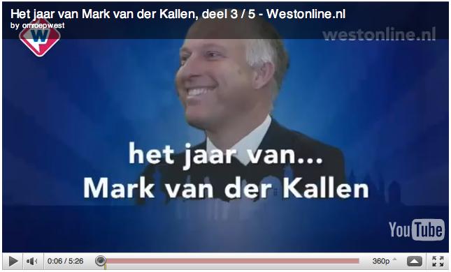 """""""Het jaar van Mark van der Kallen"""""""