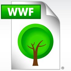 'Als WWF-bestand bewaren, helpt bomen sparen'