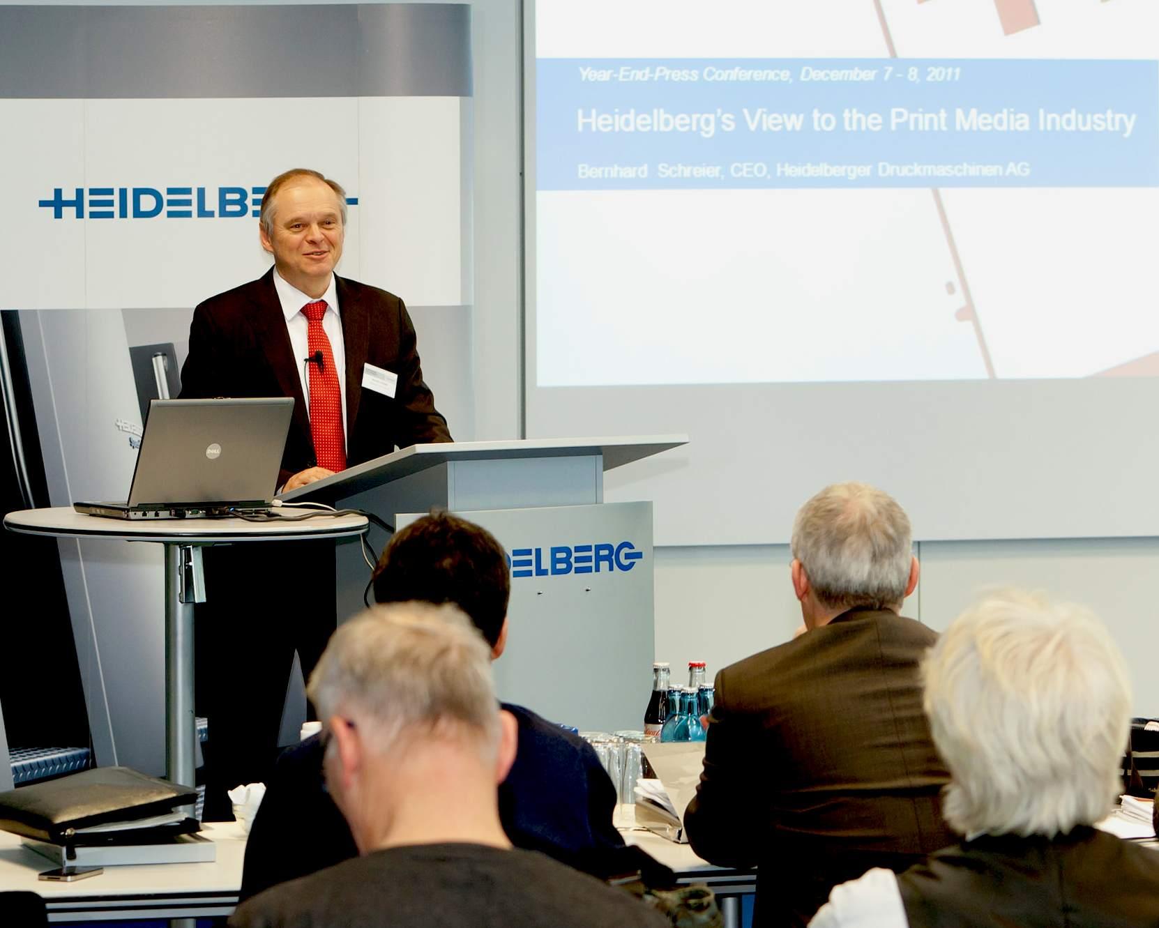 Heidelberg over manroland: 'Goed voor de markt als capaciteit verdwijnt'