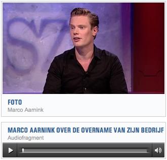 """Radio-interview RTV Oost met Marco Aarnink (21-02-2014): """"Eigenaar Drukwerkdeal.nl is 24 miljoen rijker maar blijft nuchter"""""""