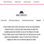 Papiergroothandel Paperlinx start mediabureau 'Proost Prikkels'
