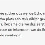 Branchebreed protest tegen Amsterdamse Ja|Ja-sticker